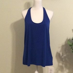 ❤️ Michael,MK Large royal blue halter blouse